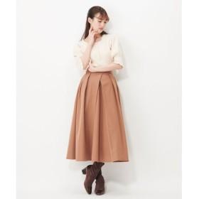 【シュープリームララ/Supreme.La.La.】 タックロングスカート