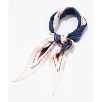 【クミキョク/組曲】 【ミュルーズコラボ】シルクツイルダイヤシェイプスカーフ