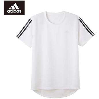 GUNZE グンゼ adidas(アディダス) インナーTシャツ(メンズ)【SALE】 ホワイト M
