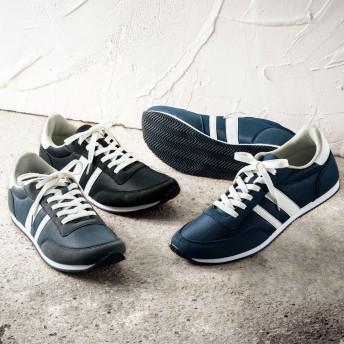 【格安-男性靴】メンズ軽量クラシックデザインスニーカー