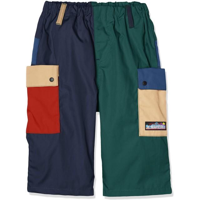 (クリフメイヤー) KRIFF MAYER KIDS MOUNTAIN-SHORTS キッズ ジュニア ハーフパンツ ハーパン ショートパンツ 半ズボン 短パン 撥水 防汚 150 カラフル