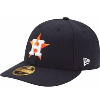 ニューエラ New Era メンズ キャップ 帽子 Houston Astros 59Fifty Home Navy Low Crown Authentic Hat