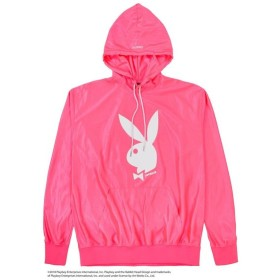 【SALE 50%OFF】Shiny Jersey Hoodie / PINK