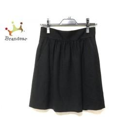 バレンチノ R.E.D VALENTINO スカート サイズ40 M レディース 黒   スペシャル特価 20191026