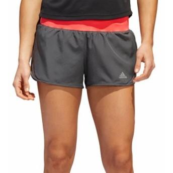 アディダス adidas レディース ボトムス・パンツ ランニング・ウォーキング Run it Running Shorts Grey/Shock Red