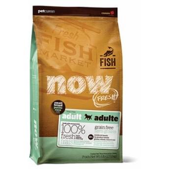 新鮮な食材 ナウフレッシュ グレインフリー スモールブリード フィッシュアダルト 11.34kg ドッグフード NOW FRESH Grain Free