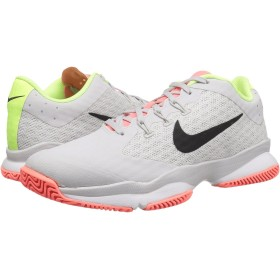 (ナイキ) NIKE レディーステニスシューズ・スニーカー・靴 Air Zoom Ultra Vast Grey/Black/White/Volt Glow 7.5 (24.5cm) B - Medium