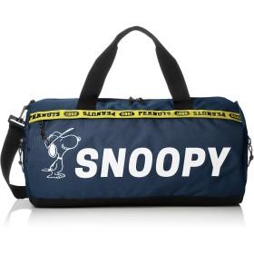 [スヌーピー] SNOOPY スヌーピー ロゴライン ボストンバッグ SPR-859b ネイビー(SPR-861) One Size