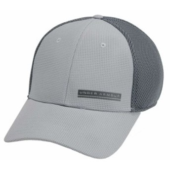 アンダーアーマー Under Armour メンズ 帽子 Train Spacer Mesh Hat Mod Gray/Pitch Gray