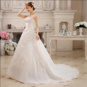 激安 人気 ウエディングドレス 結婚式ドレス 花嫁ウェディングドレス ウェディングドレス プリンセスドレス エンイブニングドレス