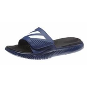 アディダス ADIDAS メンズ サンダル シューズ・靴 AlphaBounce Slide Sandal Dark Blue/White/Core Black