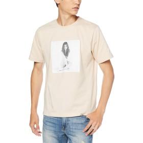 [ウィゴー] WEGO [別注] セレーナ・ゴメス T シャツ 半袖 M ベージュ メンズ