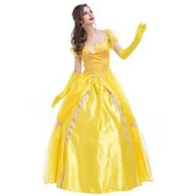 ハロウィン コスプレ 衣装 精霊 フェアリー 白雪姫 花嫁ドレス 花の妖精 魔女 お姫様 女王 仙女 コスチューム 仮装 レディース ワンピー