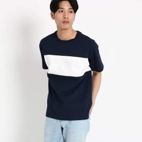 (ザ ショップ ティーケー) THE SHOP TK 【WEB/一部店舗限定】ラガーボーダーTシャツ N4036602 02(M) ネイビー(593)