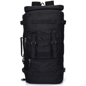 リュック 登山 リュックサック メンズ バックパック 大容量 旅行 ハイキングバッグ 防水 迷彩柄 アウトドア 大容量50L (B)