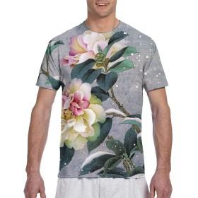 Longgongtongxin Tシャツ ポケT メンズ 半袖 綿100% 夏 創意デザイン ファション カジュアル おしゃれ 大きい サイズ ゆったり 男女兼用 トップス XL