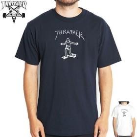 (スラッシャー) THRASHER Tシャツ L ホワイト [並行輸入品]