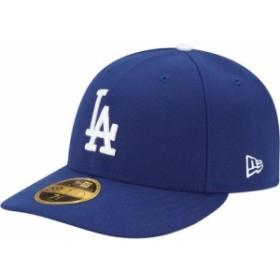 ニューエラ New Era メンズ キャップ 帽子 Los Angeles Dodgers 59Fifty Game Royal Low Crown Authentic Hat
