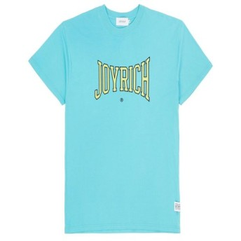 【SALE 50%OFF】College Logo S/S Tee / PEPPERMINT BLUE / LIME
