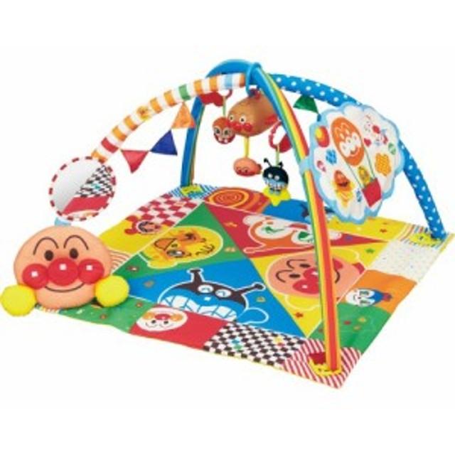 アンパンマン ベビラボ 脳科学メロディ あそんではぐくむプレイマットDX おもちゃ こども 子供 知育 勉強 ベビー 0歳