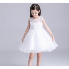 子供ドレス 女の子 フォーマル ノースリーブ ワンピース キッズドレス 発表会 七五三 ピアノ演奏会 卒業園 入園式 結婚式 フラワーガール