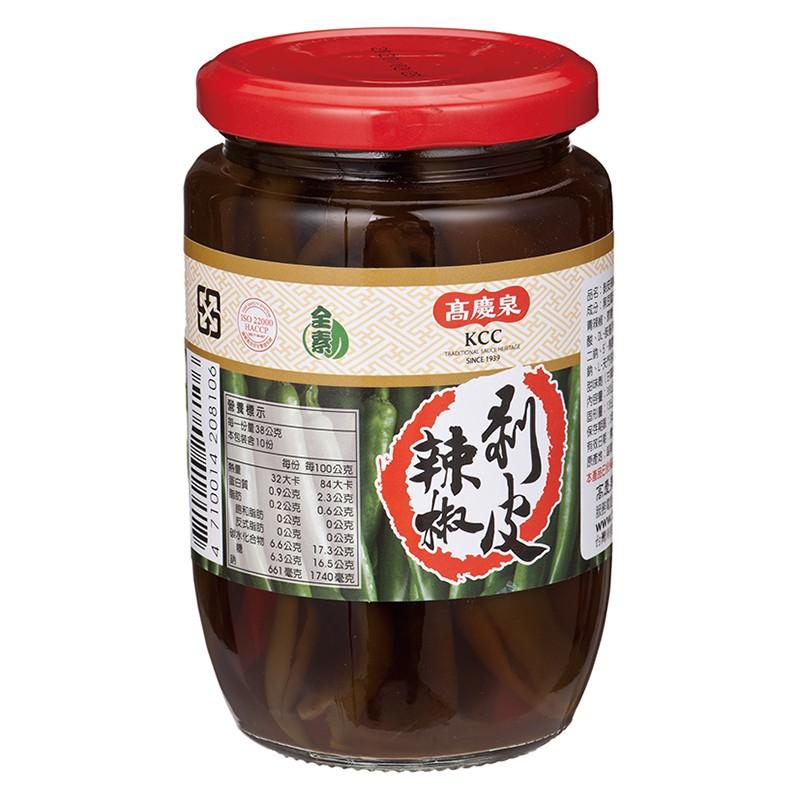 高慶泉 剝皮辣椒380g(公司直售)