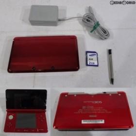 【中古即納】[訳あり][本体][3DS]ニンテンドー3DS フレアレッド(CTR-S-RAAA)(20110714)