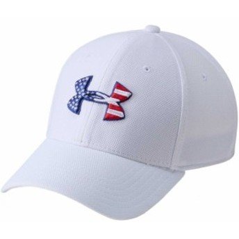 アンダーアーマー Under Armour メンズ 帽子 Freedom Flag Blitzing Hat White