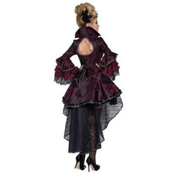 コスプレ 吸血鬼 魔女 女王 ドラキュラ 悪魔衣装 ヴァンパイア ドレス コスチューム ハロウィン 衣装 女性用 サンタ コスプレ仮装 パーテ