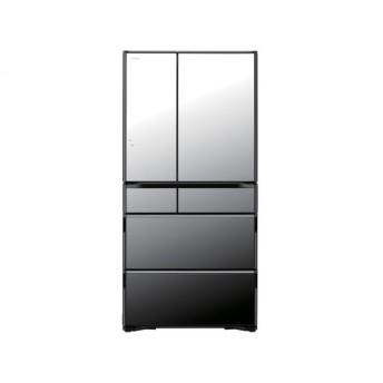 日立 冷蔵庫 735L 真空チルド R-WX74K-X(クリスタルミラー)【標準設置無料】