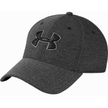 アンダーアーマー Under Armour メンズ 帽子 Heathered Blitzing Hat Black/Graphite