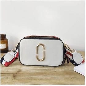 RBBB 新金の韓国版少女の小さいバッグは色をぶつけて色の単肩の斜めのショルダーバッグの簡単な約百組のミニの小さい方の包み,白