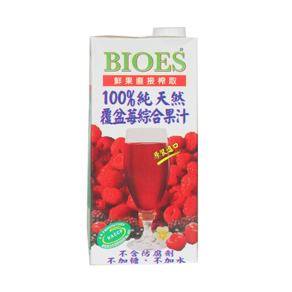 囍瑞100覆盆莓綜合原汁1L
