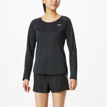 MIZUNO SHOP [ミズノ公式オンラインショップ] ロングスリーブシャツ[レディース] 09 ブラック 32MA9840