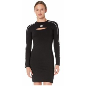 プーマ PUMA レディース ワンピース ワンピース・ドレス Classics Dress PUMA Black