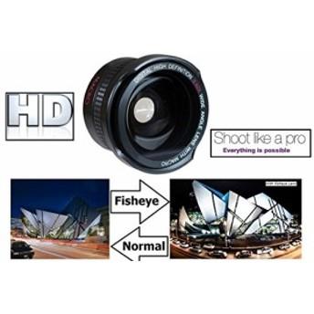 スーパーワイドHD魚眼レンズ オリンパス E-PL9 E-M10 III E-PL8 37mm互換(新品未使用の新古品)