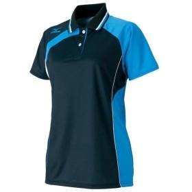 MIZUNO ミズノ テニスゲームシャツ ブラック 62JA621309