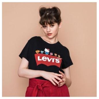 (Levi's/リーバイス)パーフェクトTシャツ HELLO. KITTY & FRIENDS/レディース BLACKS