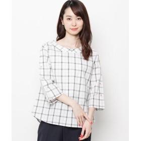 Airpapel(エアパペル) 【洗える】ドビーチェックシャツ