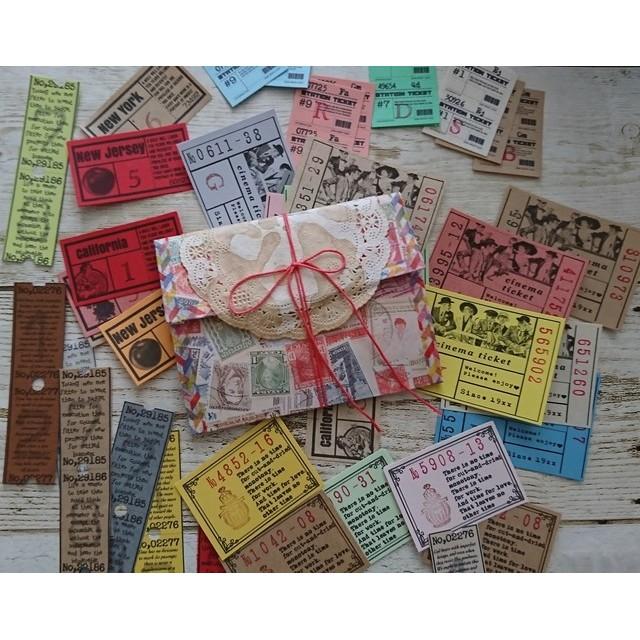 ミニジャバラケース付☆紙ものチケット50枚セット