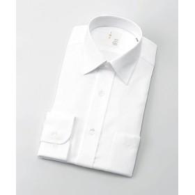 【SALE(三越)】<イムズ/IMZ> 長袖白ドビーシャツ(ZMD810-201) 201シロ 【三越・伊勢丹/公式】