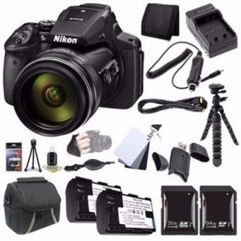 Nikon Coolpix p900デジタルカメラバンドル(インターナショナルバージョン (中古良品)