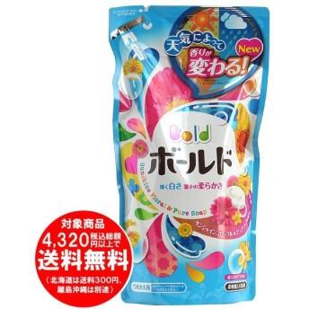 [売り切れました] ボールド 柔軟剤入り洗濯洗剤 液体 香りのサプリインジェル サンシャインフローラル&ピュアソープの香り 詰替用 715g