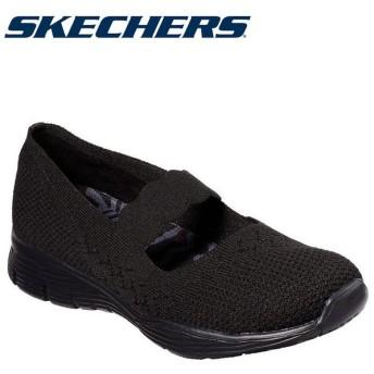 スケッチャーズ SKECHERS SEAGER-POWER HITTER 49622-BBK レディースシューズ