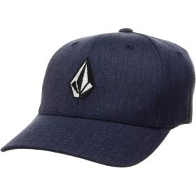 [ボルコム] [キッズ] ジェット キャップ (サイズ調整可能)[ F5541307 / Full Stone Xfit Hat BY ] 帽子 かわいい 子供服 NVH_ネイビー US O/S (FREE サイズ)