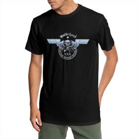 Tシャツ 半袖 男 丸ネック 夏 上着 気楽 おしゃれ 上質 ゆったり Motorhead ロゴ