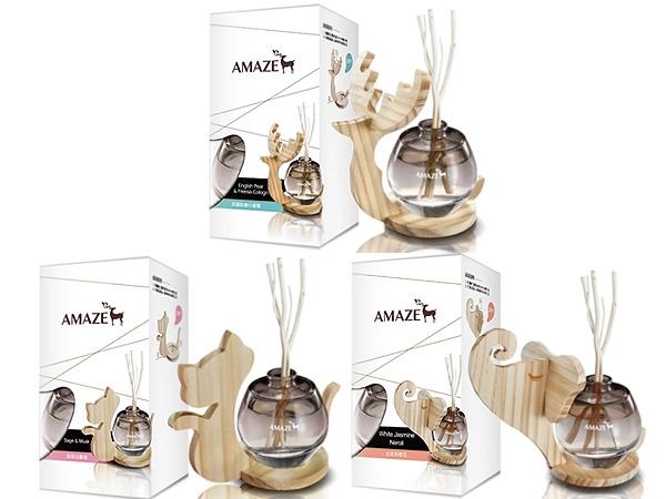 Amaze~森林擴香(90ml) 英國梨與小蒼蘭/鼠尾白麝香/白茉莉橙花 款式可選【D884112】香竹/芳香劑