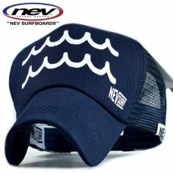 NEV SURF メッシュキャップ メンズ 送料無料 帽子 ブランド 大きいサイズ N39-105 8-8 NAVY ロゴ プリント アメカジ 190802