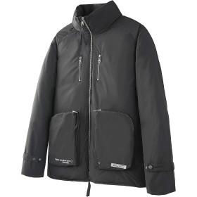 VIISHOW メンズ ダウンジャケット ウインドブレーカー カジュアル メンズダウンコート ブルゾン 綿入れ スリム 厚手 軽量 防風 防寒着 大きいサイズ