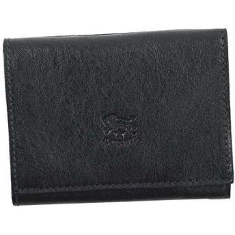イルビゾンテ IL BISONTE 3つ折小銭付き財布 ブラック C0593/M